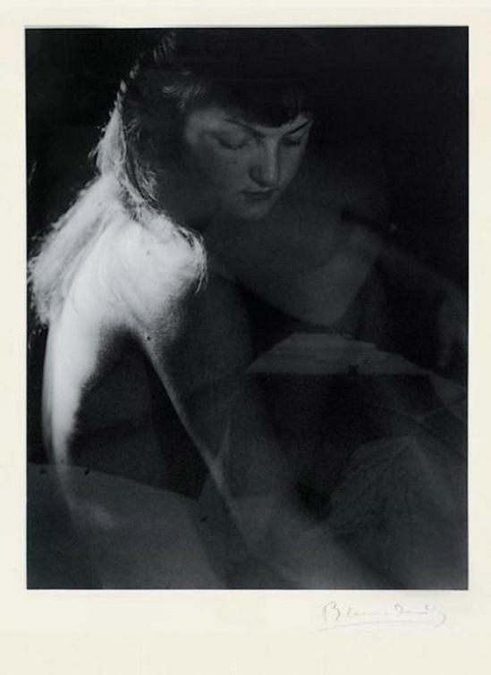 Blanc et Demilly- Nu double exposure, 1945 1950