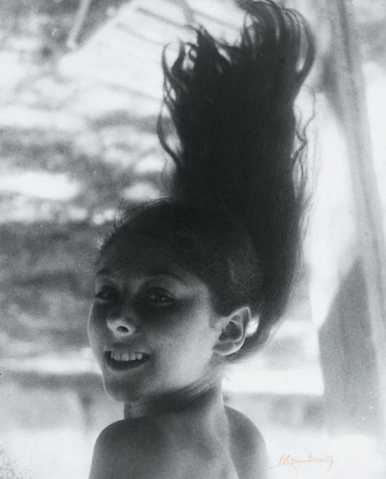 Blanc et Demilly-Portrait d'une jeune fille, vers 1935-1939