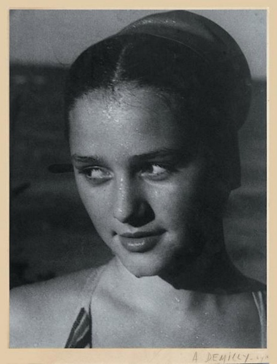 Blanc et Demilly-Portrait, vers 1945-1950