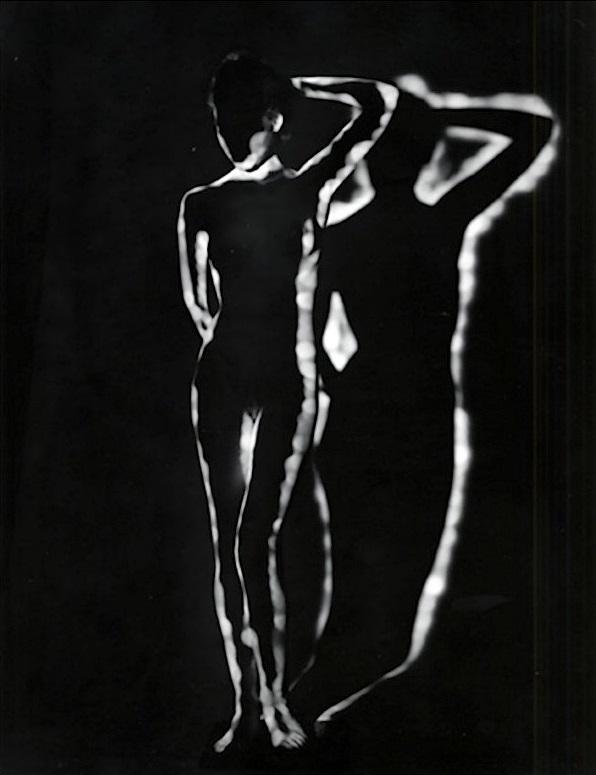 Erwin Blumeneld- Nude Light,Shadow, New York, 1952