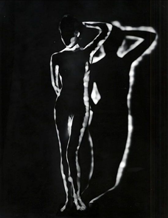 Erwin Blumeneld- Nude Light,Shadow, New York, 1952