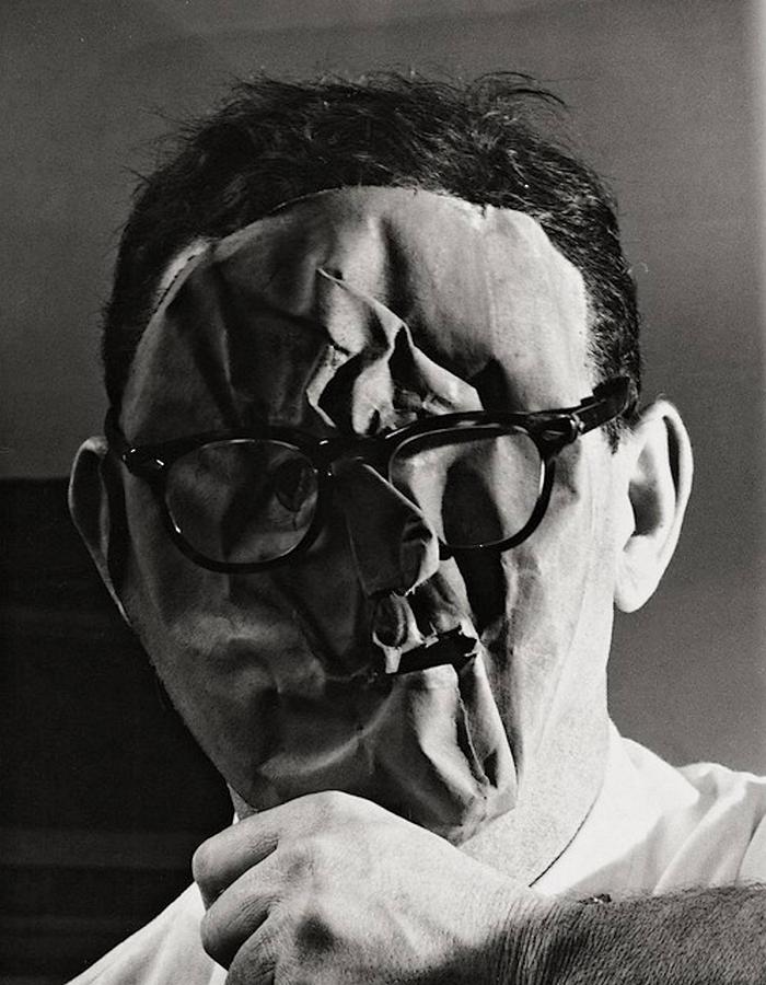 "Erwin Blumenfeld ""Self-Portrait (1958)"""