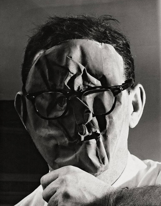 "Erwin Blumenfeld ""Self-Portrait (1958)"""
