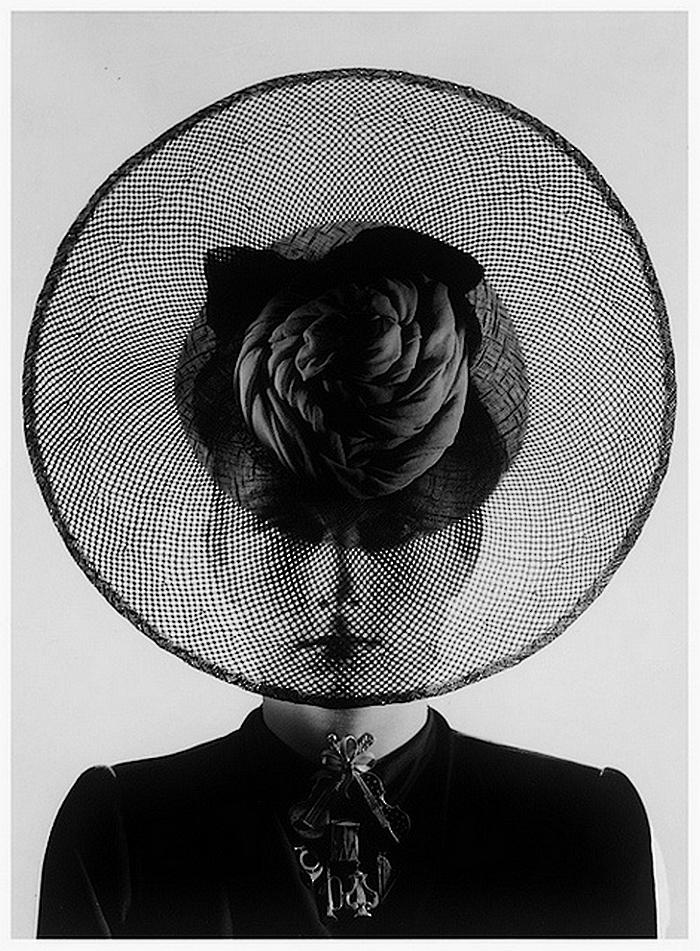 Erwin Blumenfeld Hat and Jewelry, {Probably by Schiaparelli}, Paris, 1938 (2)