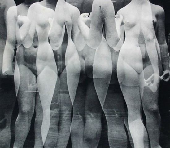 Erwin Blumenfeld Les 3 Grâces or Les 3 Nymphes,1936 [In the studio of sculptor Aristide Maillol]