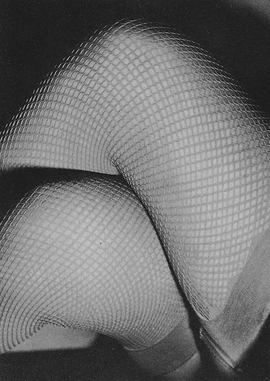 Erwin Blumenfeld-  Mesh, published in Coronet Magazine, May 1938