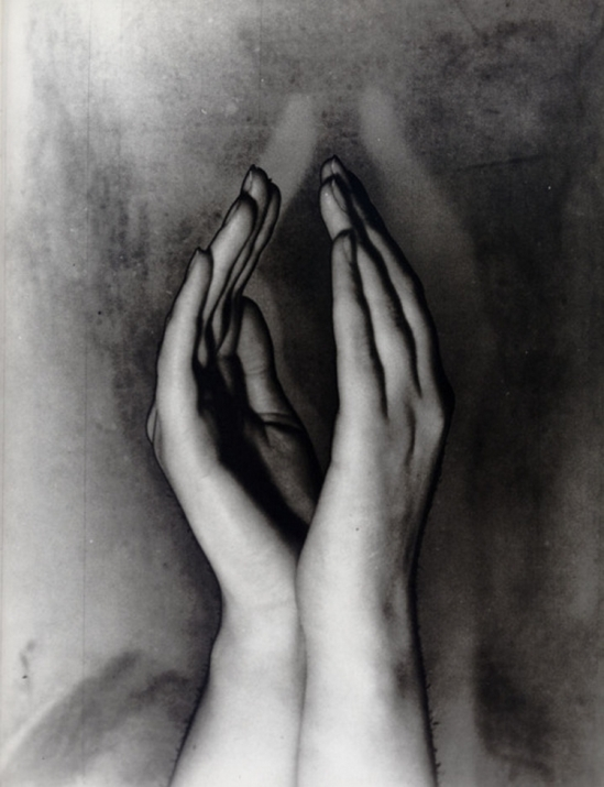 Erwin Blumenfeld - Solarised Hands c.1933  {from Erwin Blumenfeld - His Dutch Years (1918-1936)}