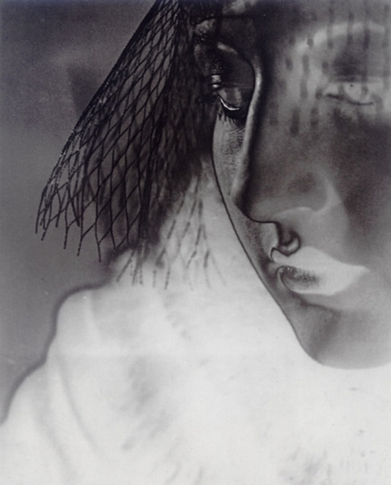 Erwin Blumenfeld -Solarized portrait, c.1933