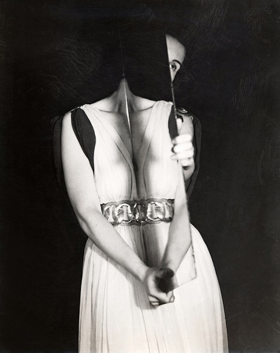 Erwin Blumenfeld - Surrealist Mirror, Paris,1938