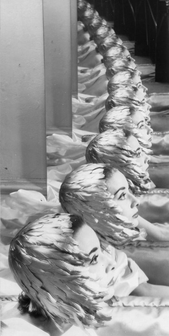 Erwin Blumenfield- Audrey Hepburn New York, années 1950