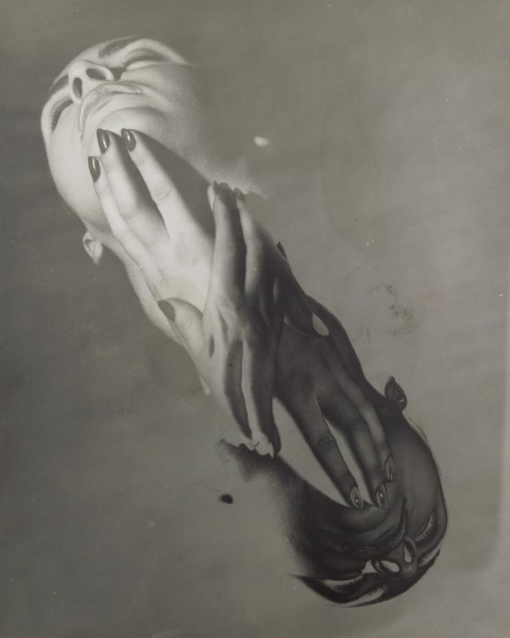 Erwin Blumenfield Half Solarized Face,1948