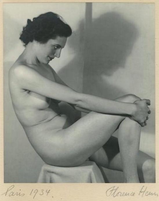 Florence Henri Etude de nu (Line Viala) Paris, 1934( source Binoche et Giquello)
