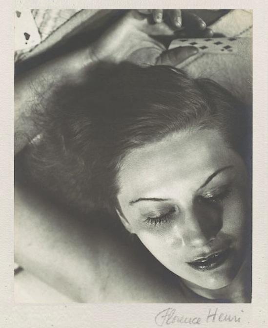 Florence Henri Femme aux Cartes, 1930 1