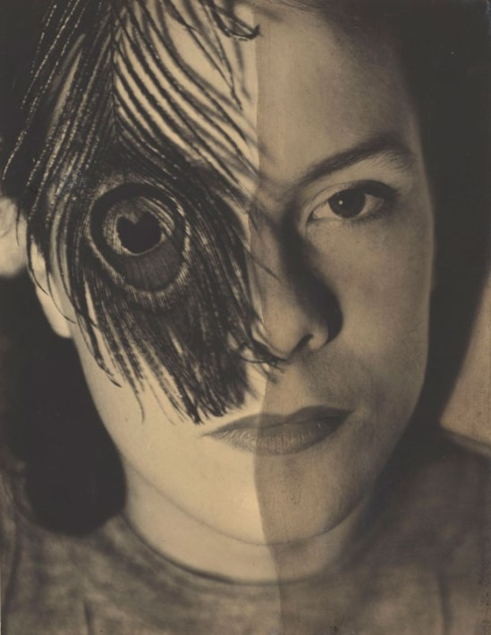 György Kepes. Juliet with Peacock Feather, 1937-38. Art Institute of Chicago, Maurice D. Galleher Endowment. © Estate of Gyorgy Kepes, courtesy of Alpha Gallery, Boston.