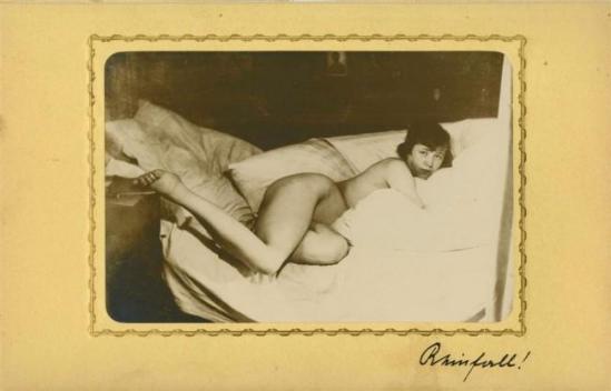 Heinz Von Perckhammer-The Bridal Nigh#2, gelatin silver print. c1927. Printed 1931