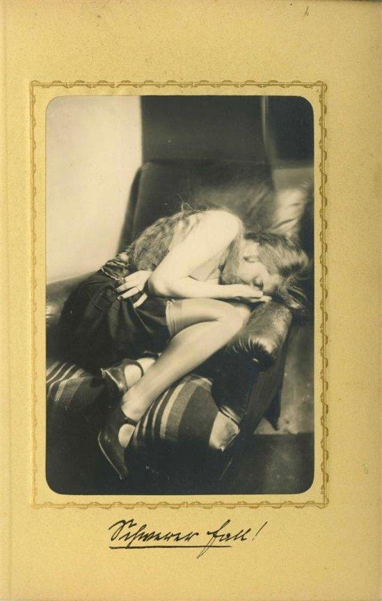 Heinz Von Perckhammer -The Bridal Night #1.  gelatin silver print. c1927. Printed 1931