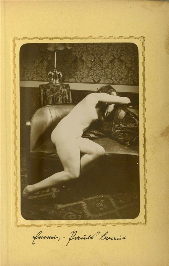 Heinz Von Perckhammer -The Bridal Night #3. gelatin silver print. c1927. Printed 1931