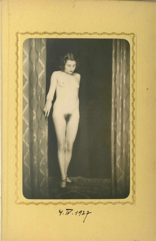 Heinz Von Perckhammer -The Bridal Night #4. gelatin silver print. c1927. Printed 1931
