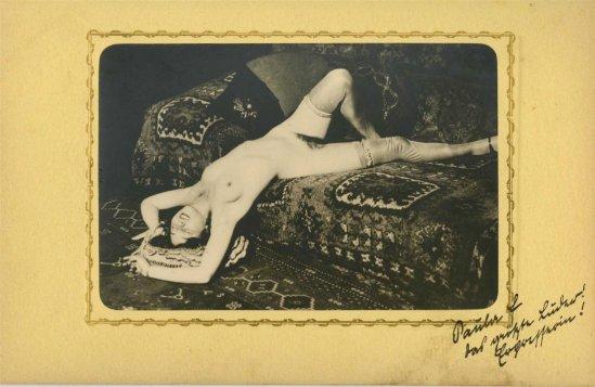 Heinz Von Perckhammer -The Bridal Night #6.  gelatin silver print. c1927. Printed 1931.