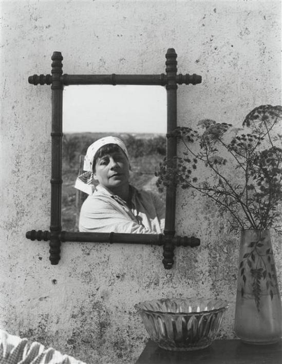 Henri Florence- Autoportrait au mirroir 1938 ( pompidou)