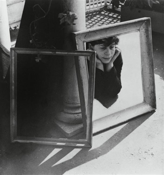 Henri Florence- Autoportrait aux cadres ,1938 ( pompidou)