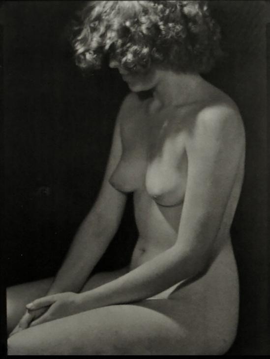 Josef Sudek - Nude study,1951 - 1954