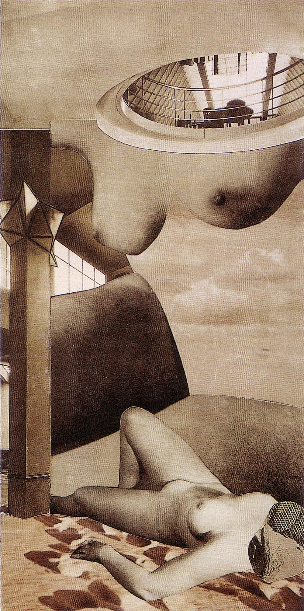 Karel Teige - Collage #138 , 1940