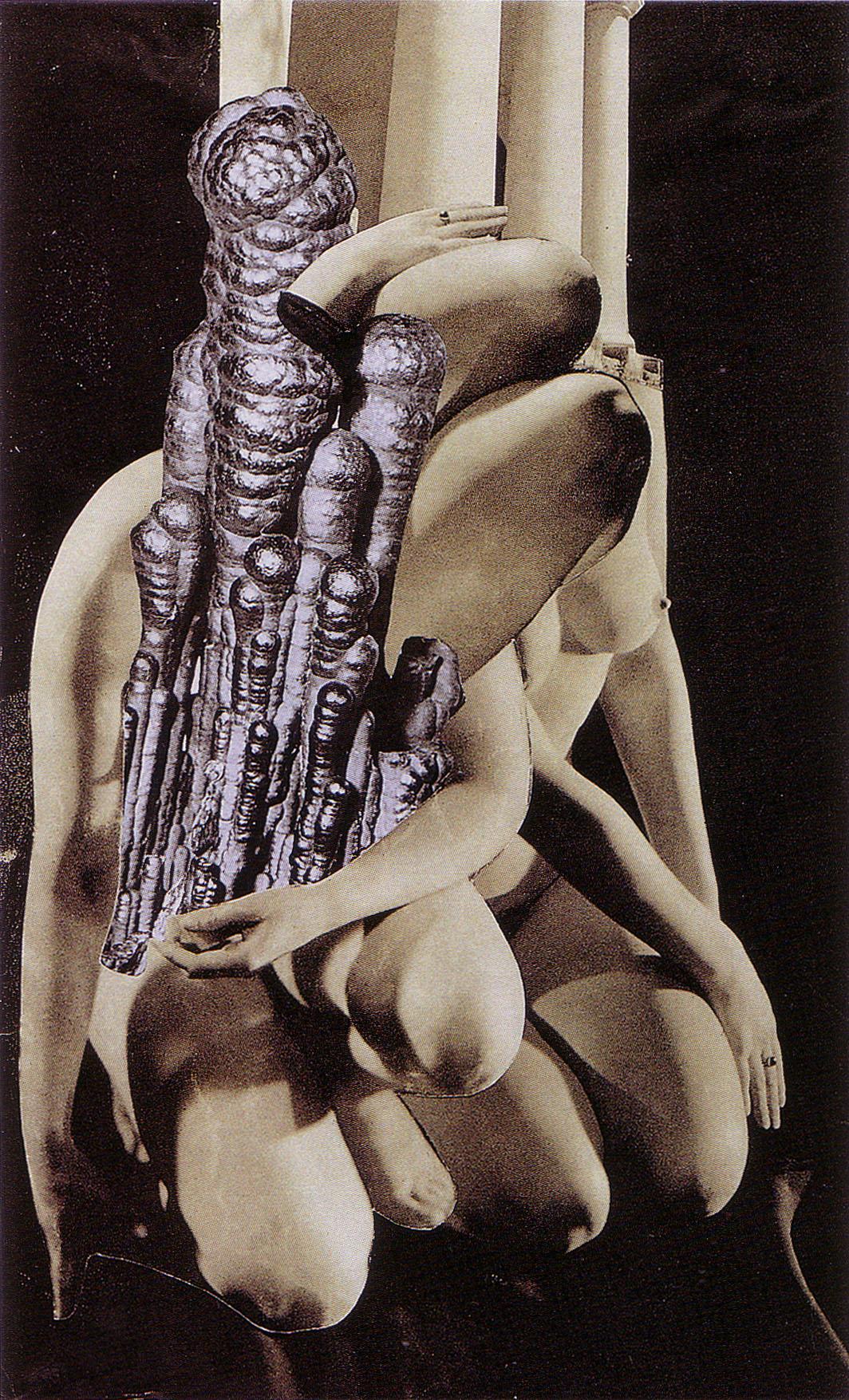 Karel Teige, collage 143, 1940. Source: Karel Teige.
