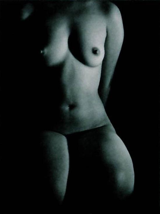 Katsuji Fukuda- Nude, 1951. A Solitary Modernist Photographer Katsuji Fukuda Exhibition. Japan Yamaguchi Prefectural Museum of Art, 1994