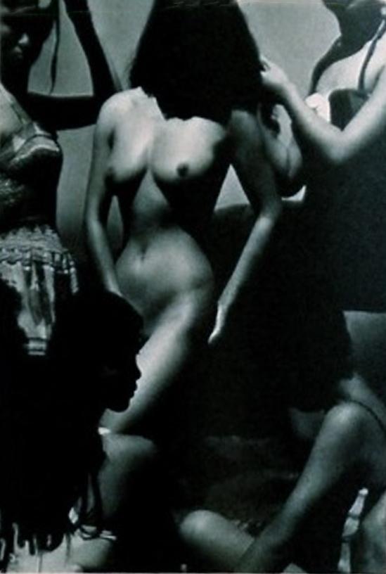 Katsuji Fukuda- Nude, 1956 from A Solitary Modernist Photographer Katsuji Fukuda Exhibition. Japan Yamaguchi Prefectural Museum of Art, 1994