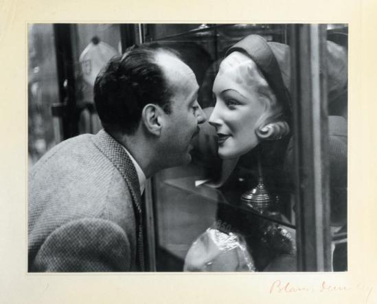 Blanc et Demilly-Le lèche vitrine vers 1950