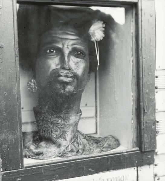 Marcel Bovis-Foire du Trône le fakir Soliman, 1948