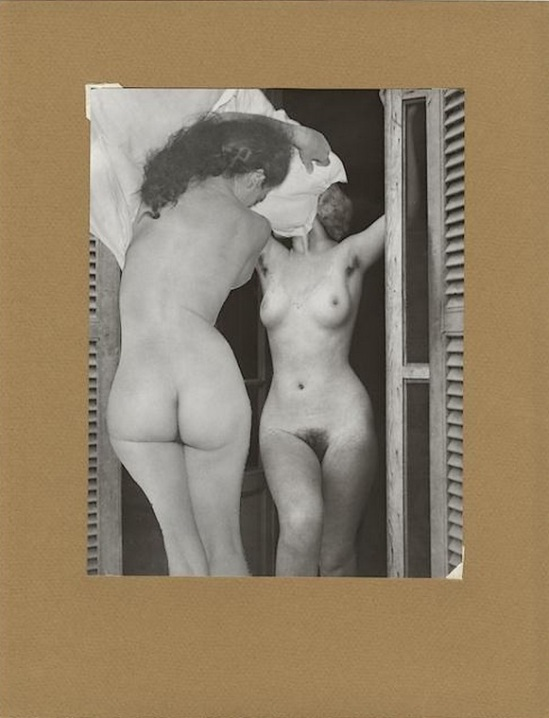 Marcel Bovis- photomontage Nus féminins, nd