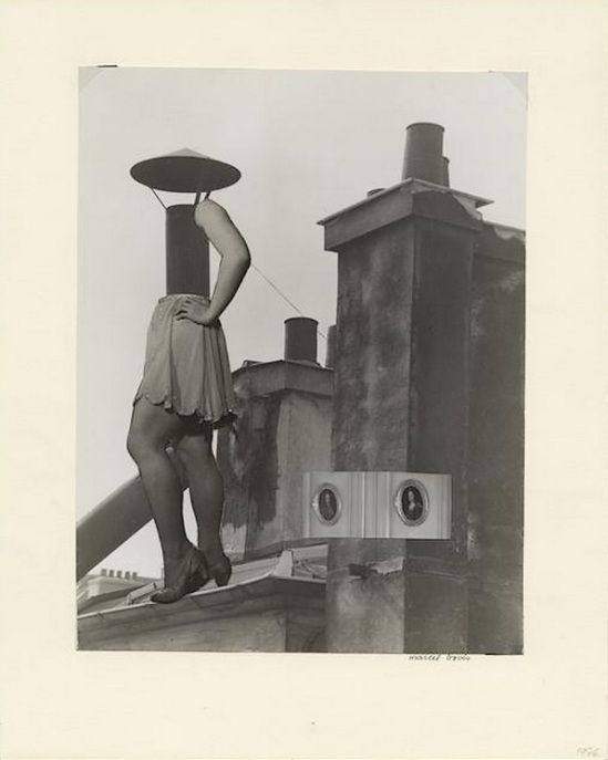 Marcel Bovis- photomontage Toit et moi 1975-80