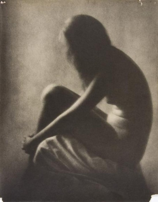Nell Dorr-Seated nude], ca. late 1920s