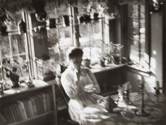 Nell Dorr-[Self-portrait in sunlit room], n.d.