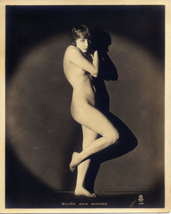 Olive Ann Alcorn, by Xan Stark for Alta Studios,1920