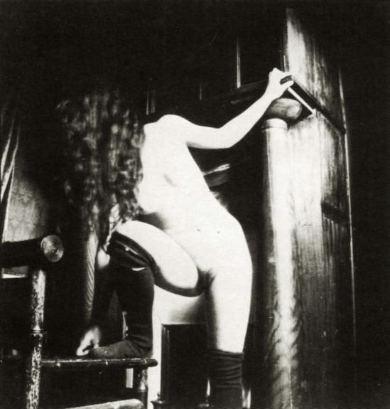 Pierre Louys – Nu Probablement Marie de Reignier au vu de la chevelure et du corps, Paris, 1897 via pierrelouys.fr