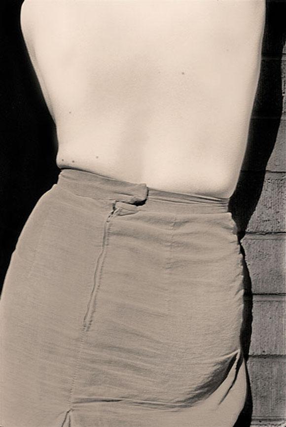 Robert Besanko -Back Skirt, 1977 Digital print,