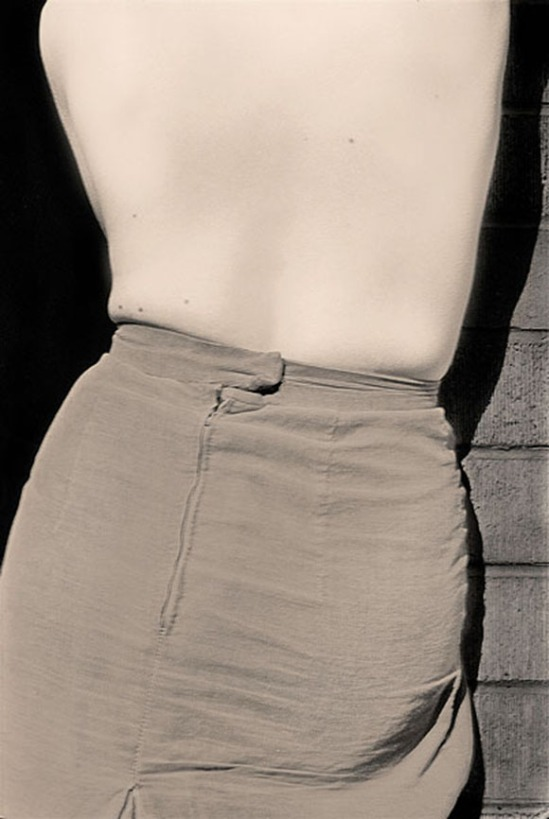 Robert Besanko -Back Skirt, 1977 Digital print,