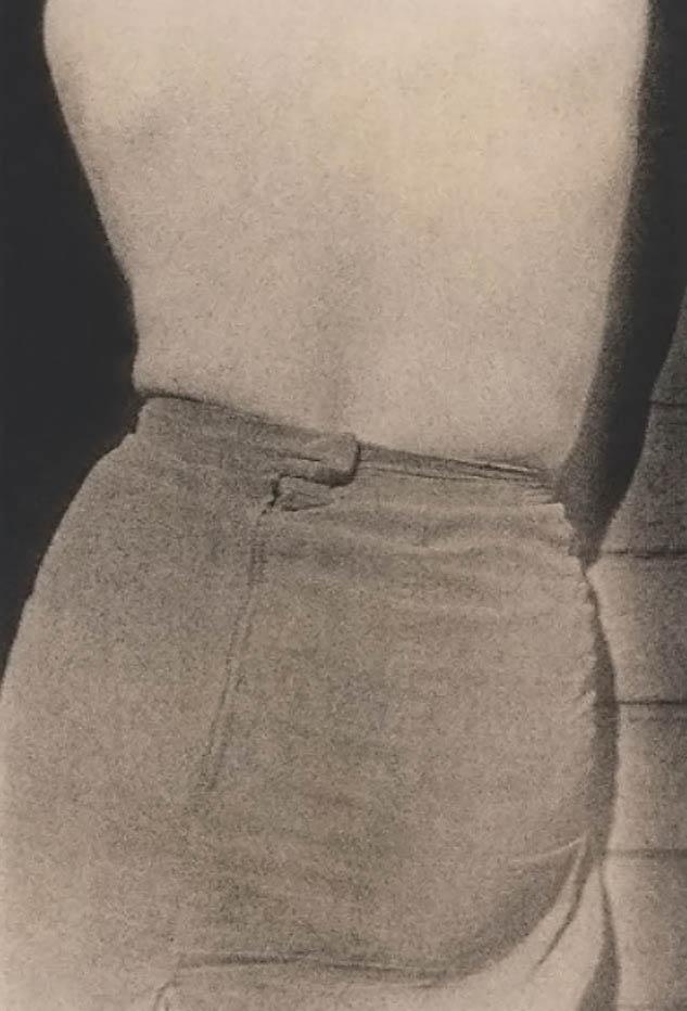 Robert Besanko -Back Skirt,  1976, Kodalith paper print