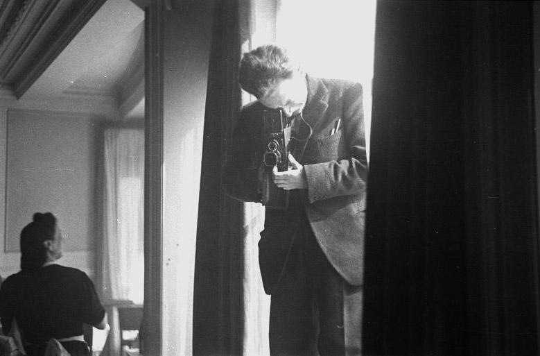 Roger Parry-autoportrait, , 1942
