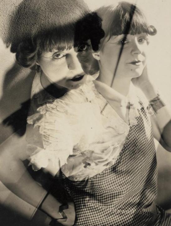 Roger Parry -Portrait de Femme Double Image, 1928