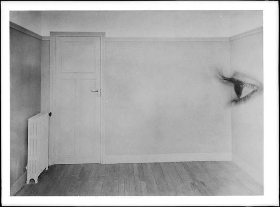 Roger Parry -Pièce vide et œil (double exposition), 1929