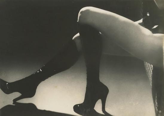 Roger Schall- Etude publicitaire pour de la lingerie Diana Slip (Lingerie advertisement for Diana Slip), 1933