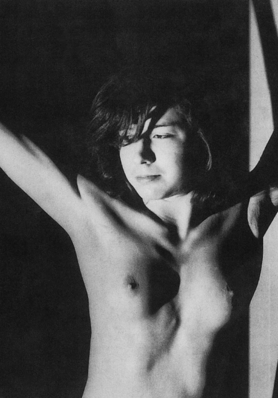 Rolf Tietgens- The writer  Patricia Highsmith nude ( she wrote  L'Inconnu du Nord-Express), 1942