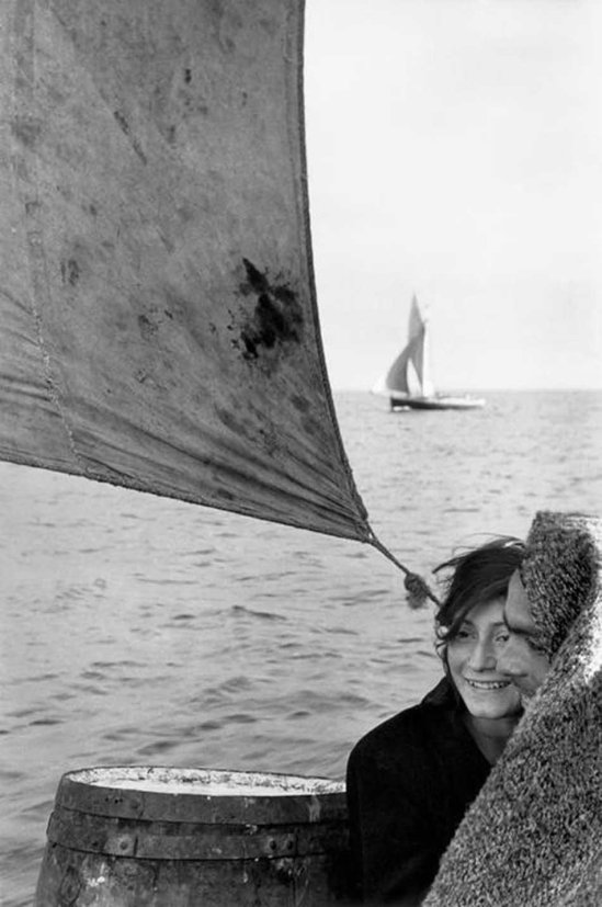 Sergio Larrain- Between Chiloe Island and Puerto Montt. chile, 1957