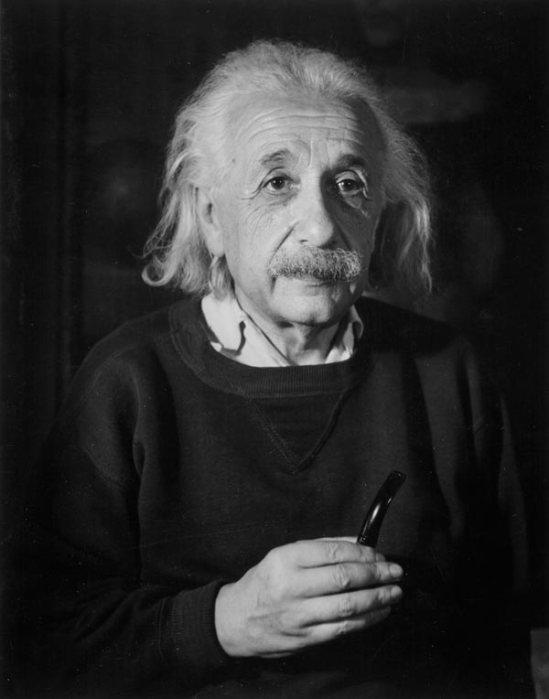 Trude Fleischmann - Albert Einstein, New Jersey 1954.