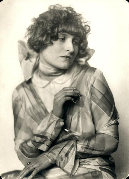 Trude Fleischmann- Portrait of the Actress Hilde ,1920s
