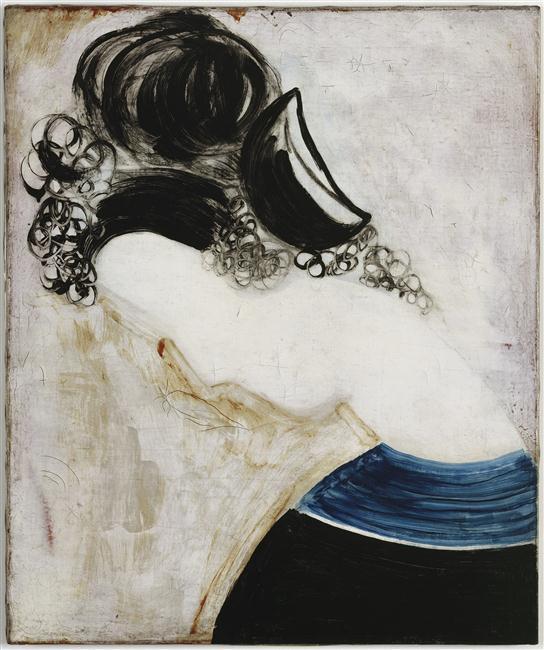 Brancusi Constantin- Profil de femme au chignon, visage incliné, avant 1924